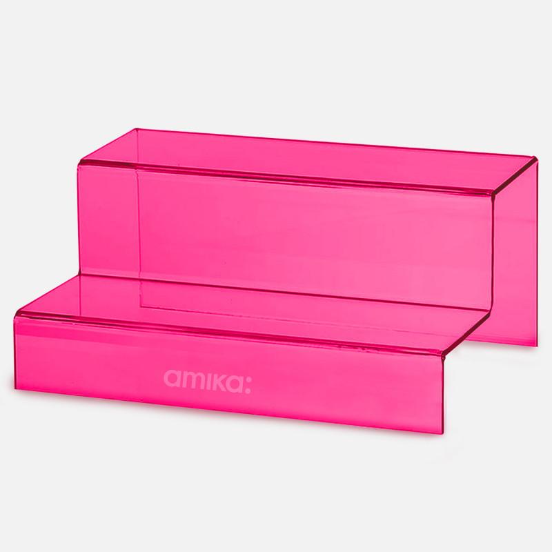 amika: stair display pink..