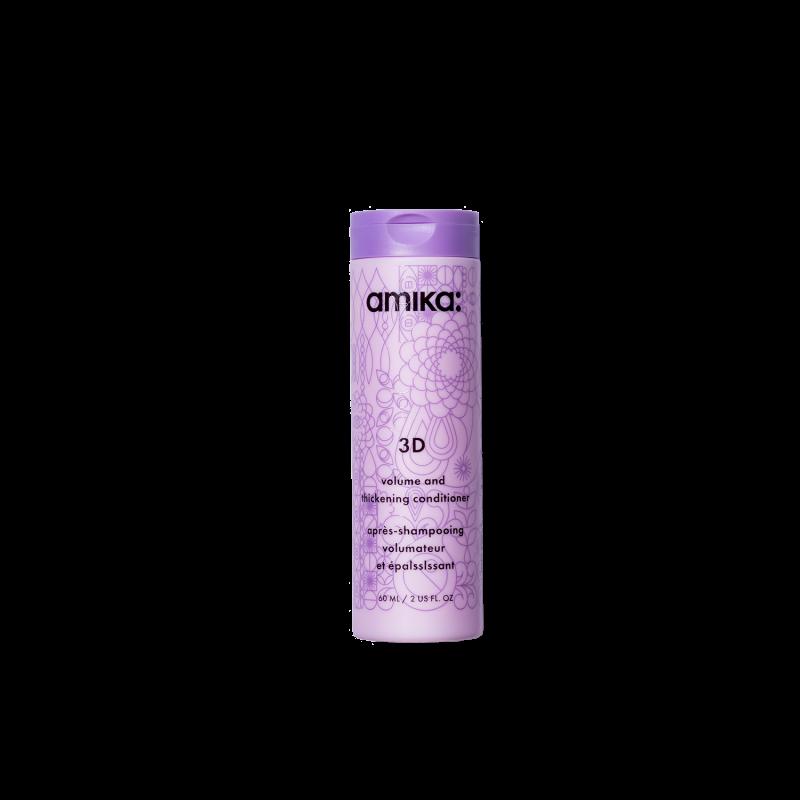 amika: 3d volume & thickening conditioner 60ml/2.03oz