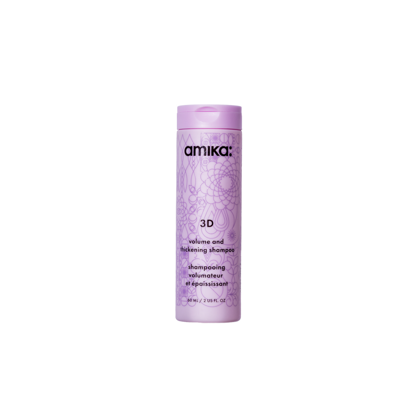 amika: 3d volume & thickening shampoo 60ml/2.03oz