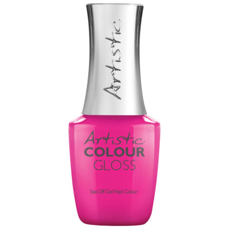 artistic colour gloss polka dottie hottie .5oz