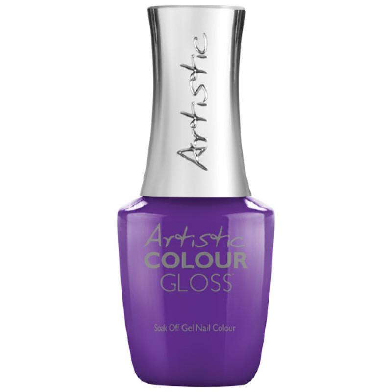 artistic colour gloss pin up purple .5oz