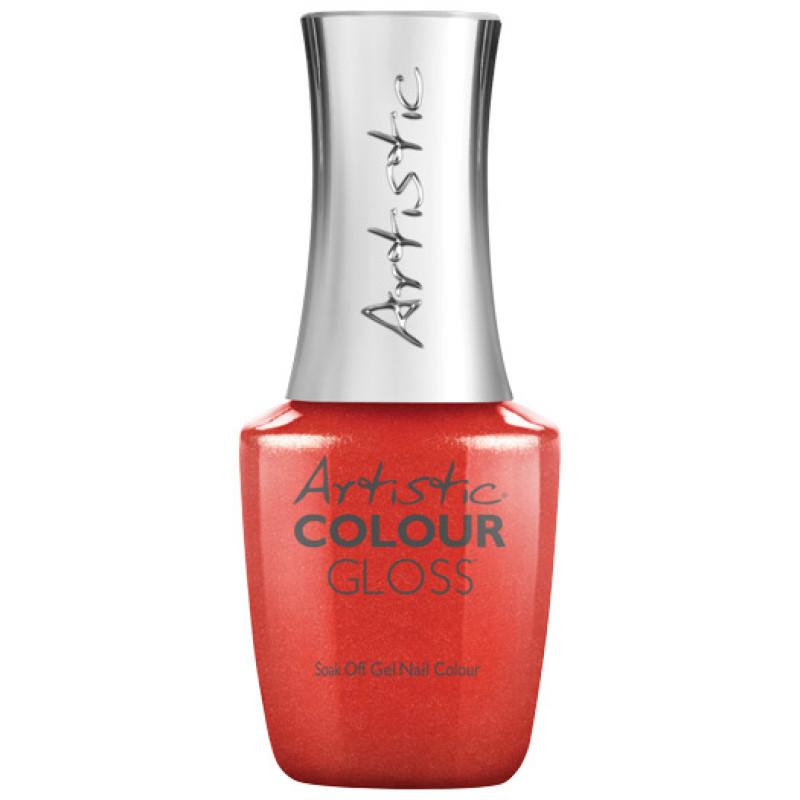 artistic colour gloss haute cout-orange .5oz