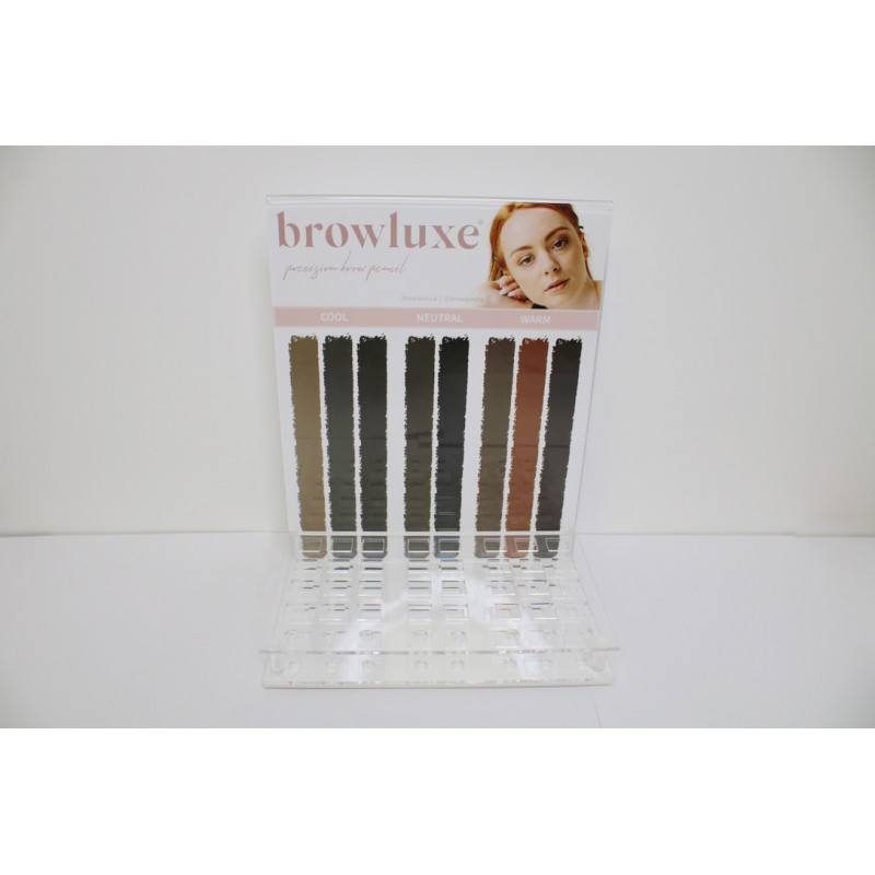 browluxe luxe acrylic custom display (empty)