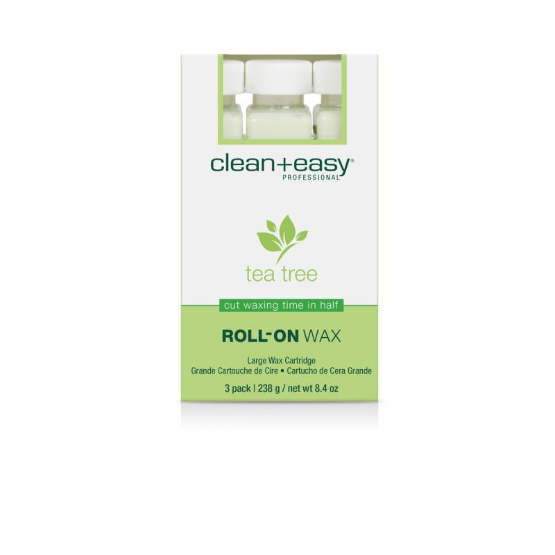 clean & easy tea tree wax..