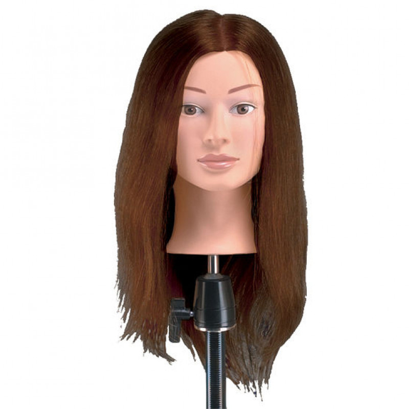 babylisspro deluxe mannequin with brown hair