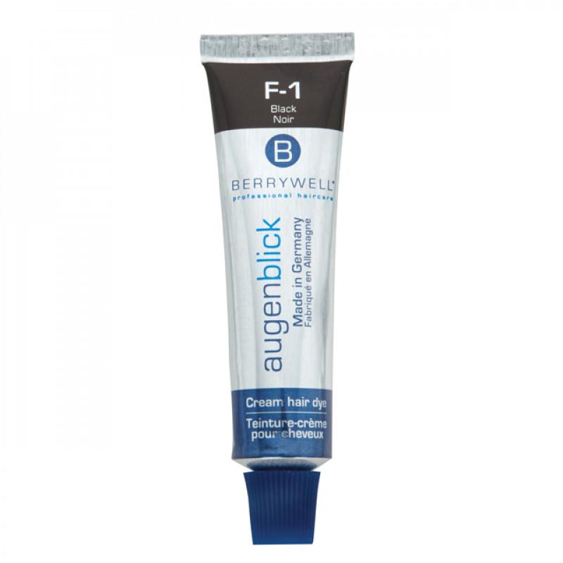 berrywell esthetic lash/brow color black (f-1c) 15ml