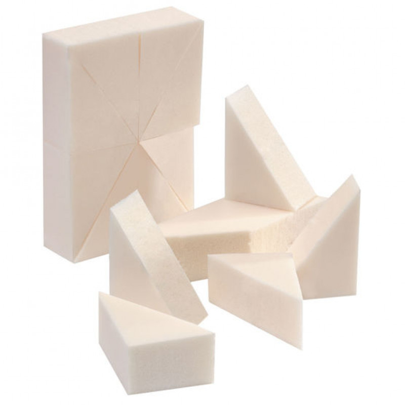 silkline foam make-up wedges 24pc # sl24wedgec