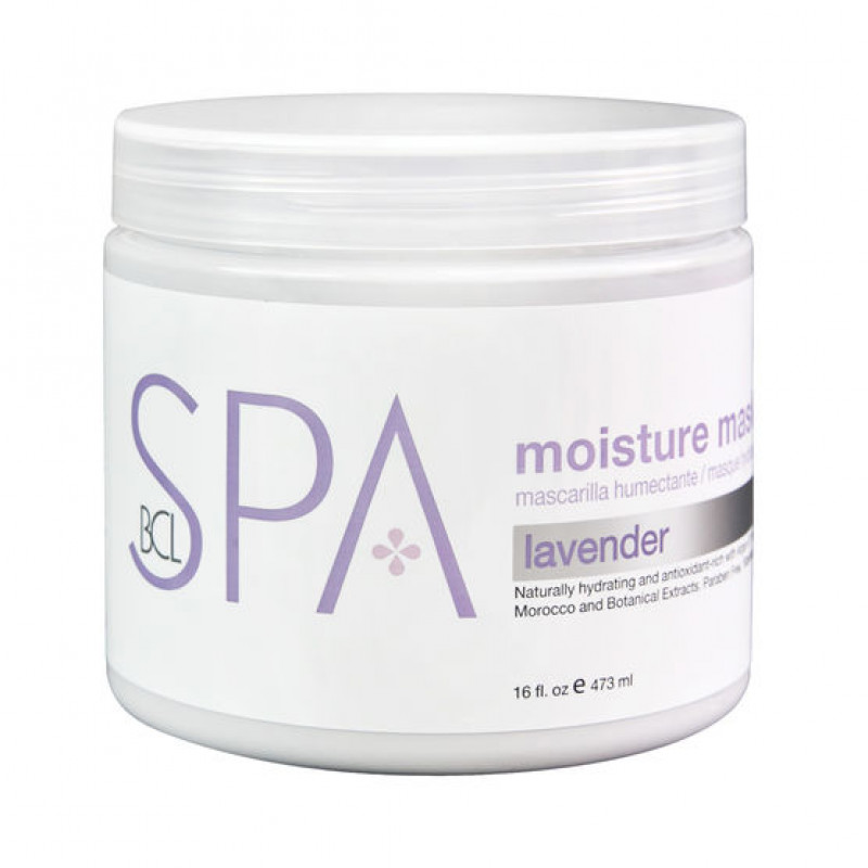 bcl spa moisture mask lavender + mint 16oz