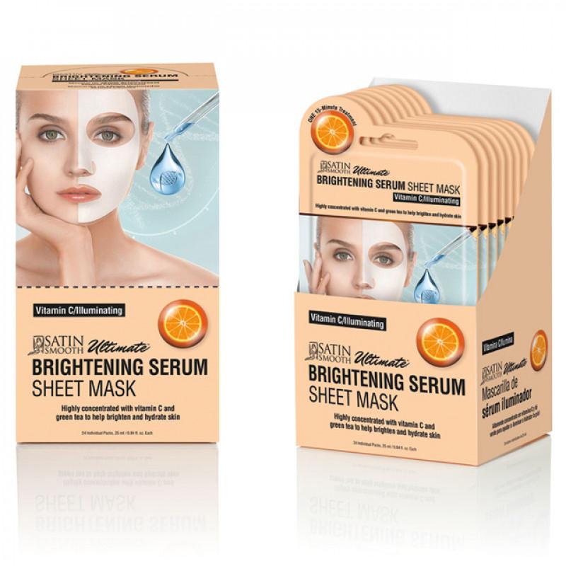 satin smooth brightening serum mask 1 pc # sskbmk