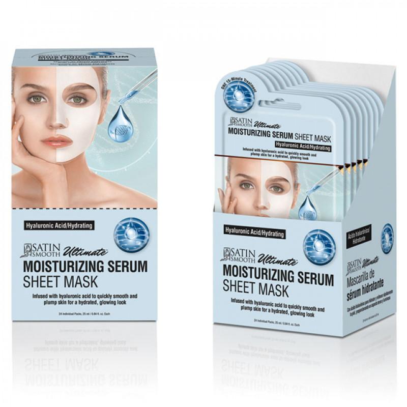 satin smooth moisturizing serum mask 1pc # sskmmk