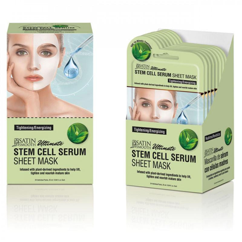 satin smooth stem cell serum mask 1pc # sskscmk