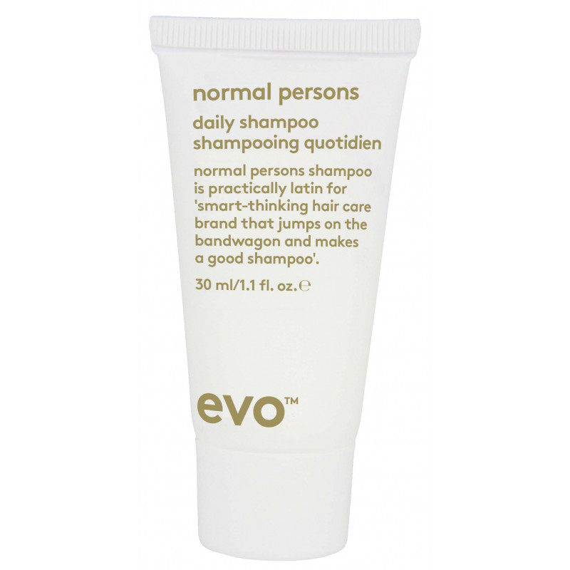 evo normal persons daily shampoo 30ml