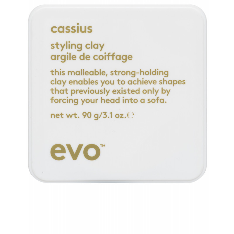 evo cassius styling clay 90g square