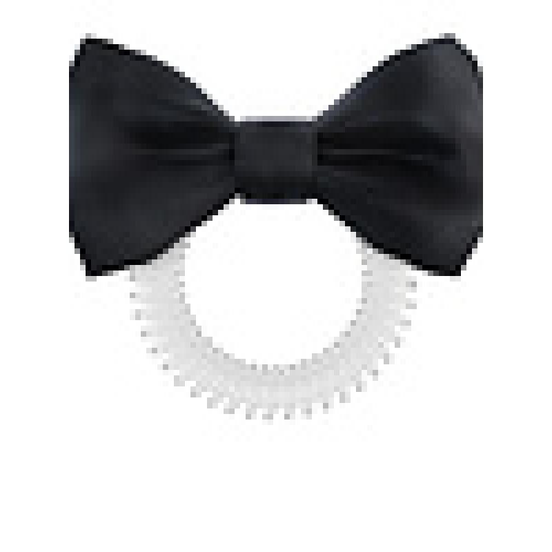 invisibobble hair tie bowtique hair tie true black 1pc