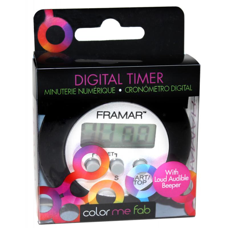 framar digital timer blac..