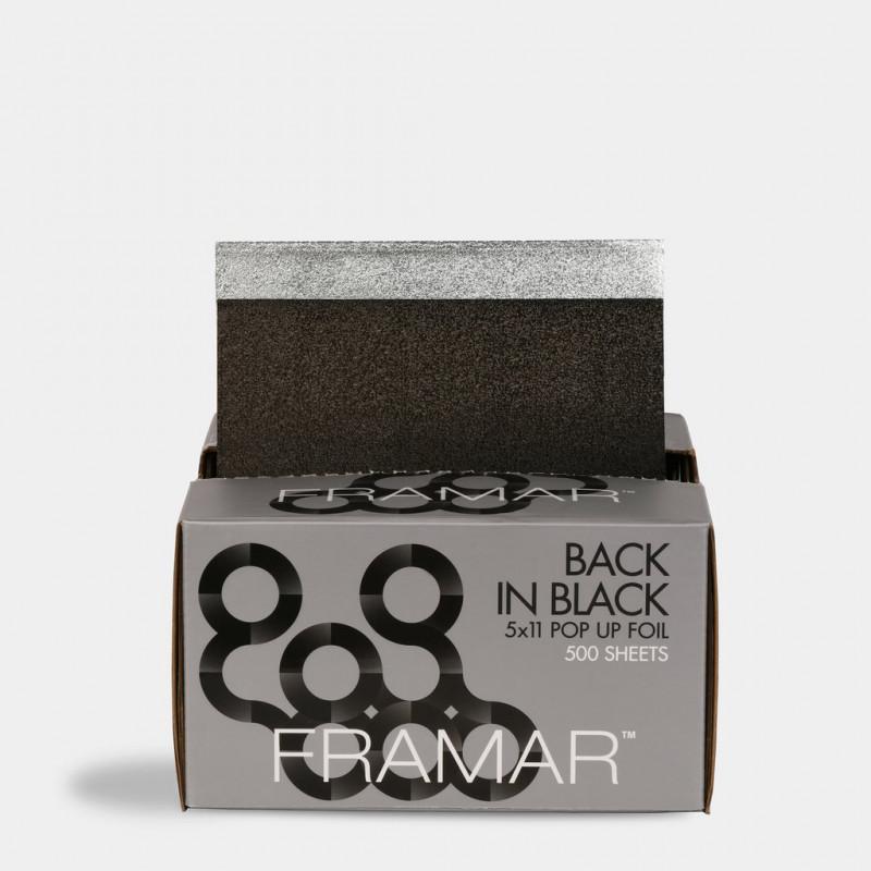 framar back in black pop up foil 5x11 500pc