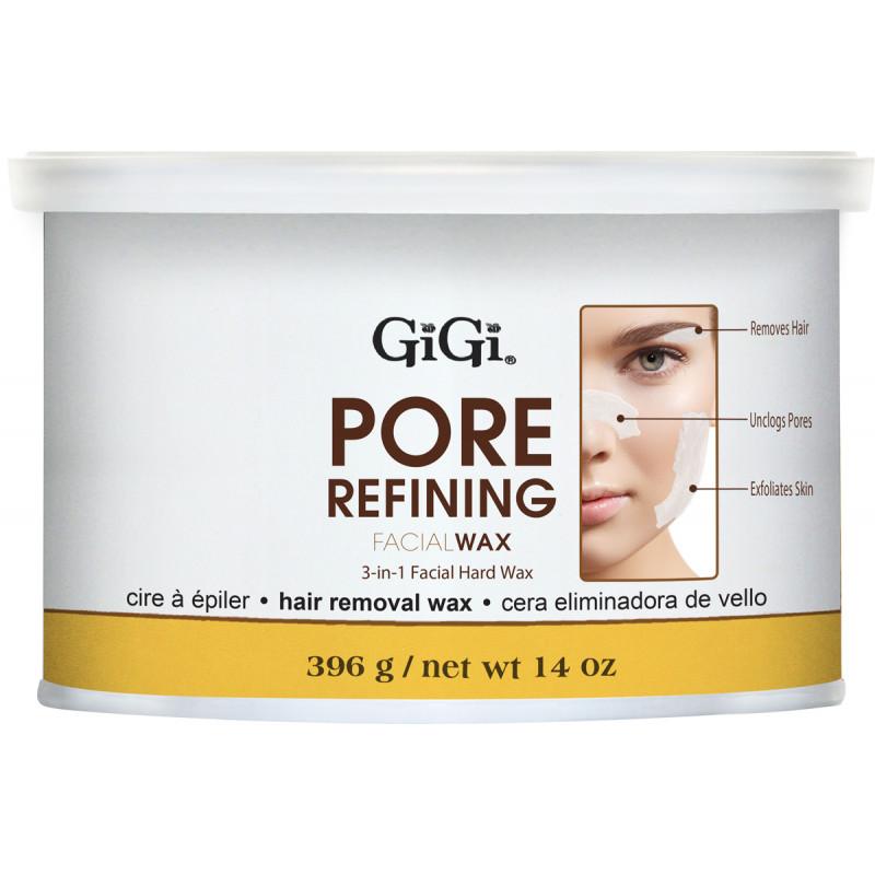gigi pore refining facial hard wax 14oz