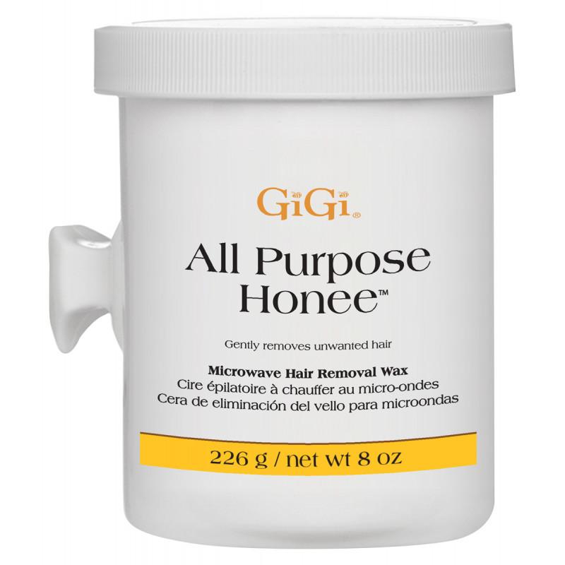 gigi all purpose honee microwave formula wax 8oz