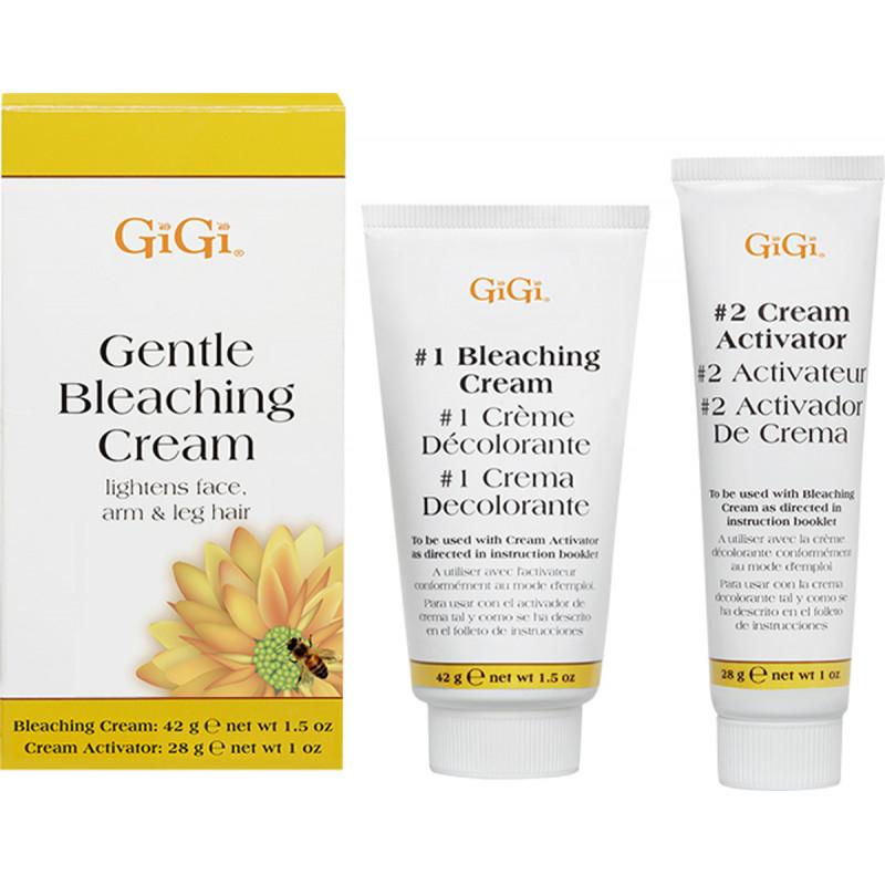 gigi gentle bleaching cream 1 oz & 1.5 oz