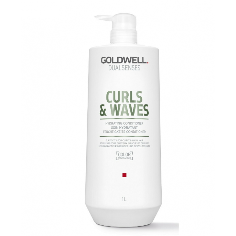 dualsenses curls & waves hydrating conditioner litre