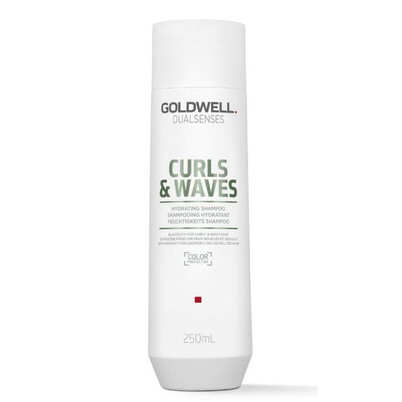 dualsenses curls & waves hydrating shampoo 250ml