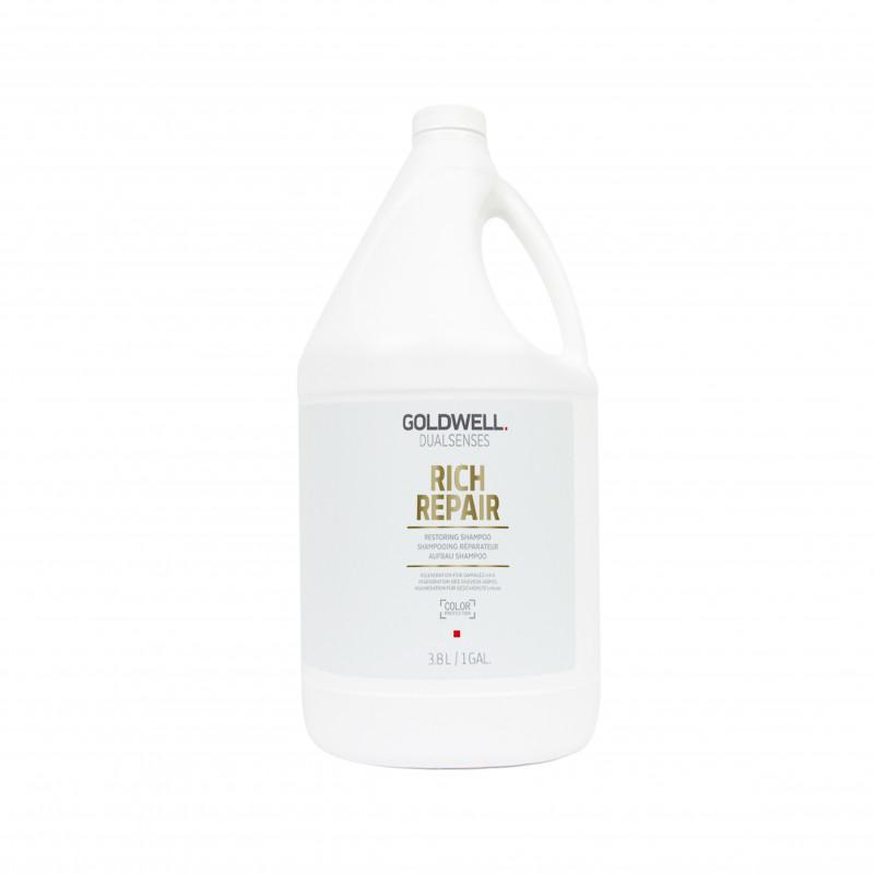 dualsenses rich repair restoring shampoo 3.8 litre