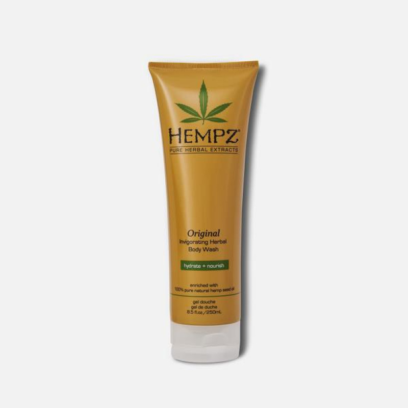 hempz original invigorating herbal body wash 8.5oz