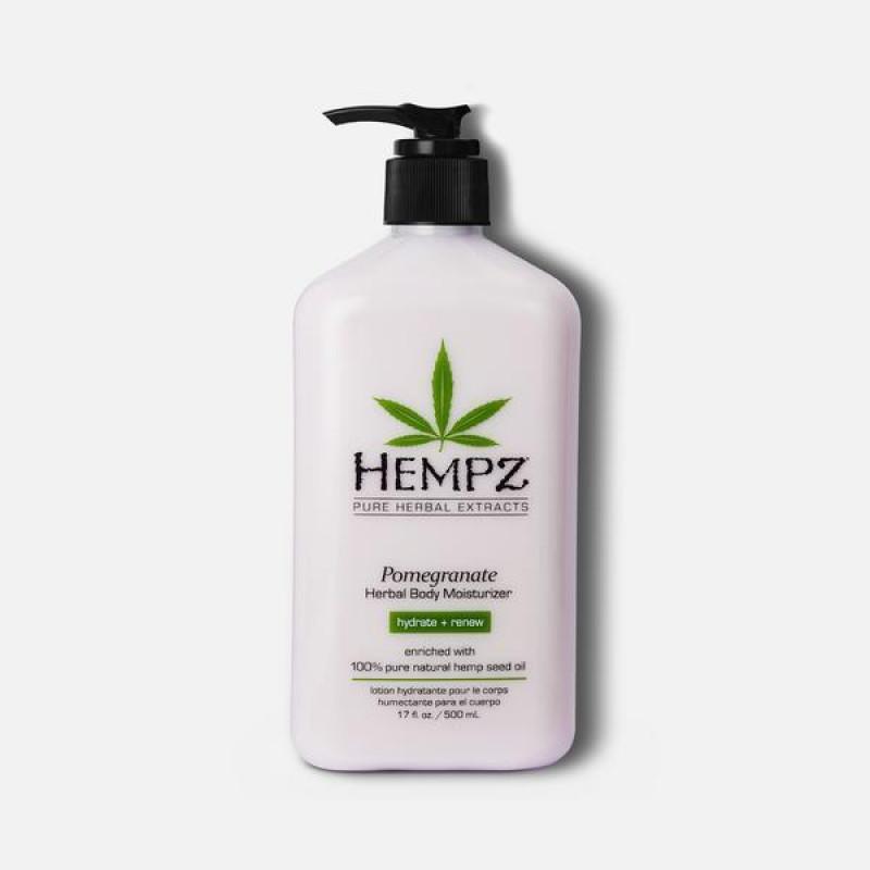 hempz pomegranate herbal body moisturizer 17oz