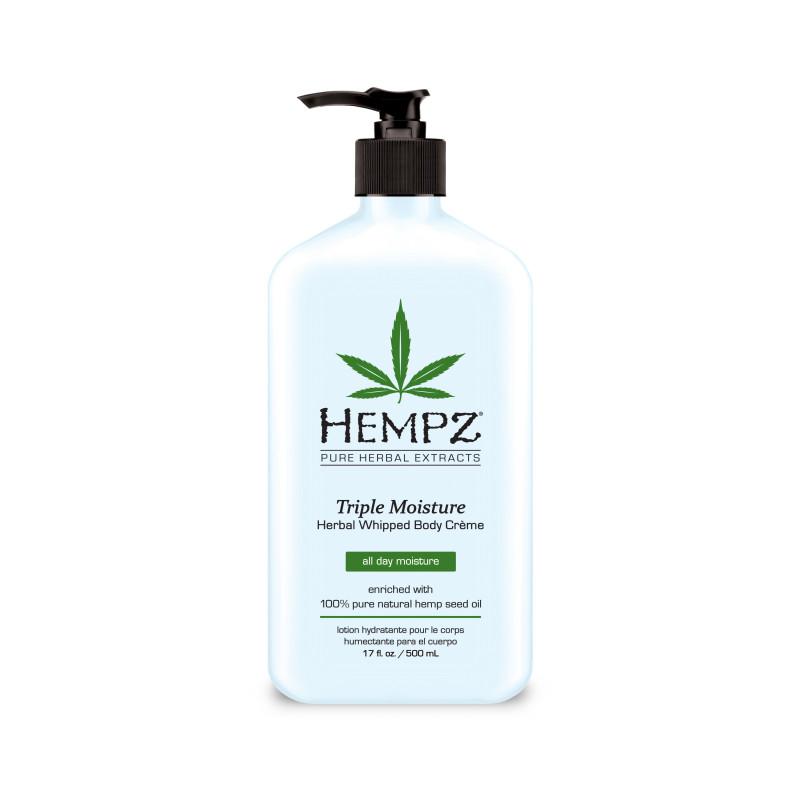 hempz triple moisture herbal whipped body crème 17oz