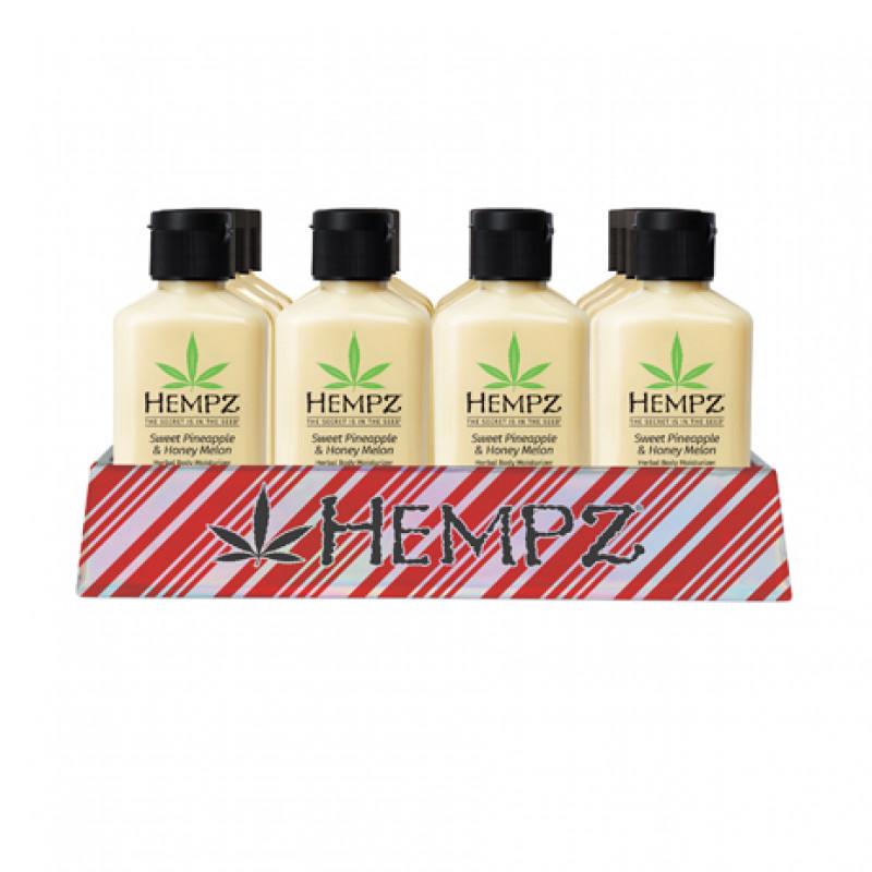 hempz mini sweet pineapple & honey melon holiday basket