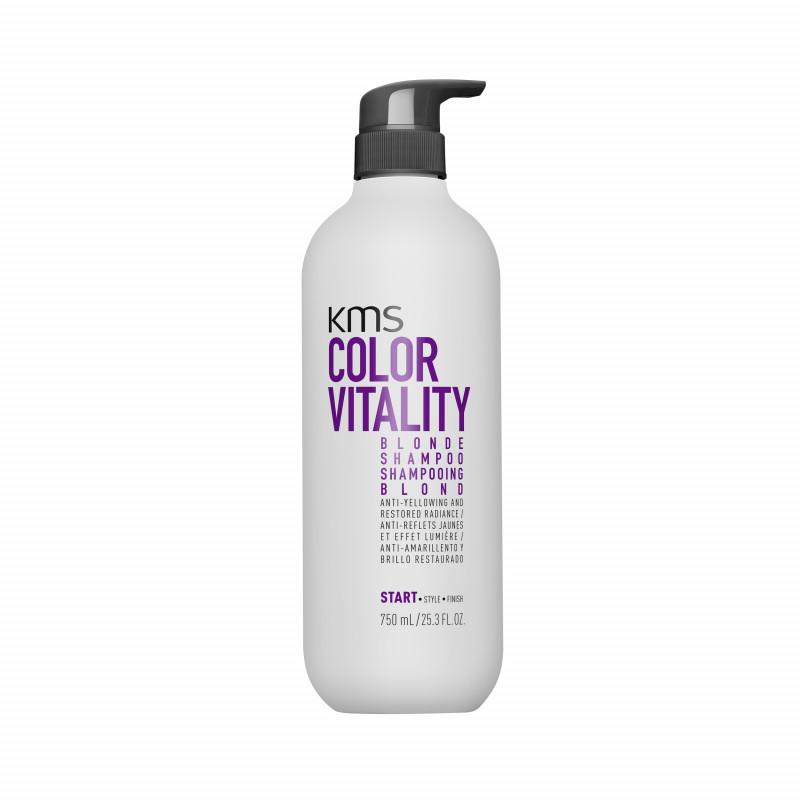 kms colorvitality blonde shampoo 750ml