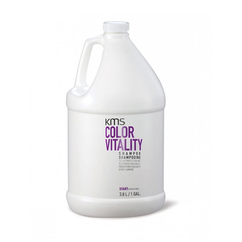 kms colorvitality shampoo 3.8 litre