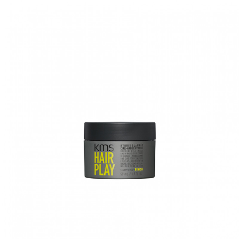 kms hairplay hybrid clay ..
