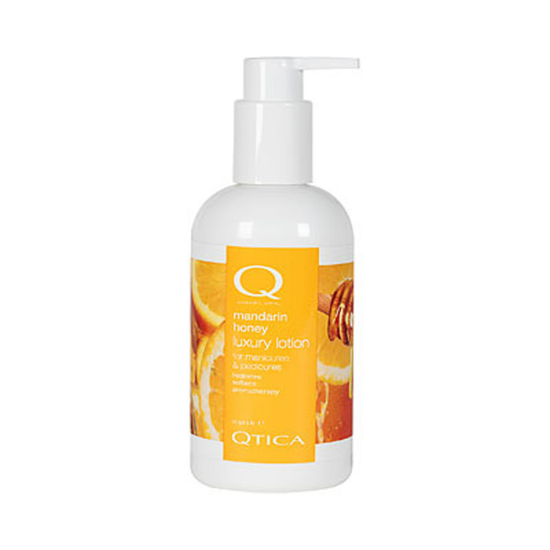 qtica smart spa mandarin honey luxury lotion 8oz