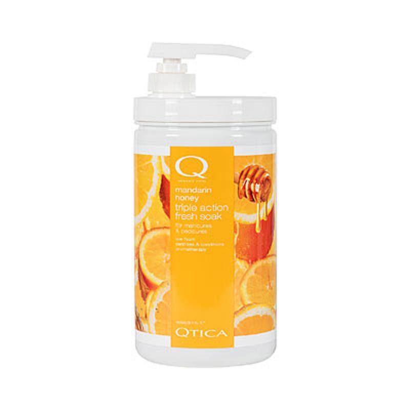 qtica smart spa mandarin honey triple action fresh soak 32oz