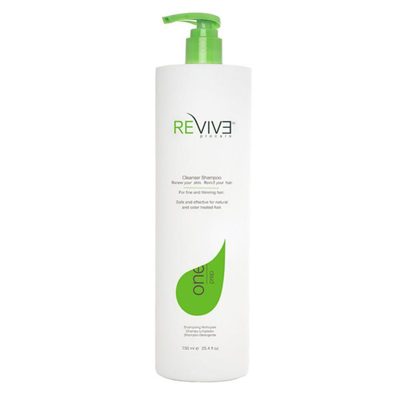 reviv3 prep cleanser shampoo 750ml/25.4 oz