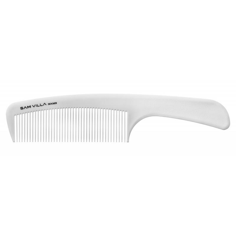 sam villa artist series handle comb ivory #30023