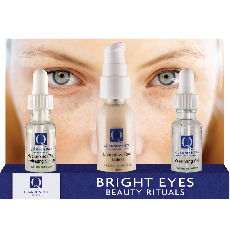 quannessence bright eyes beauty rituals kit