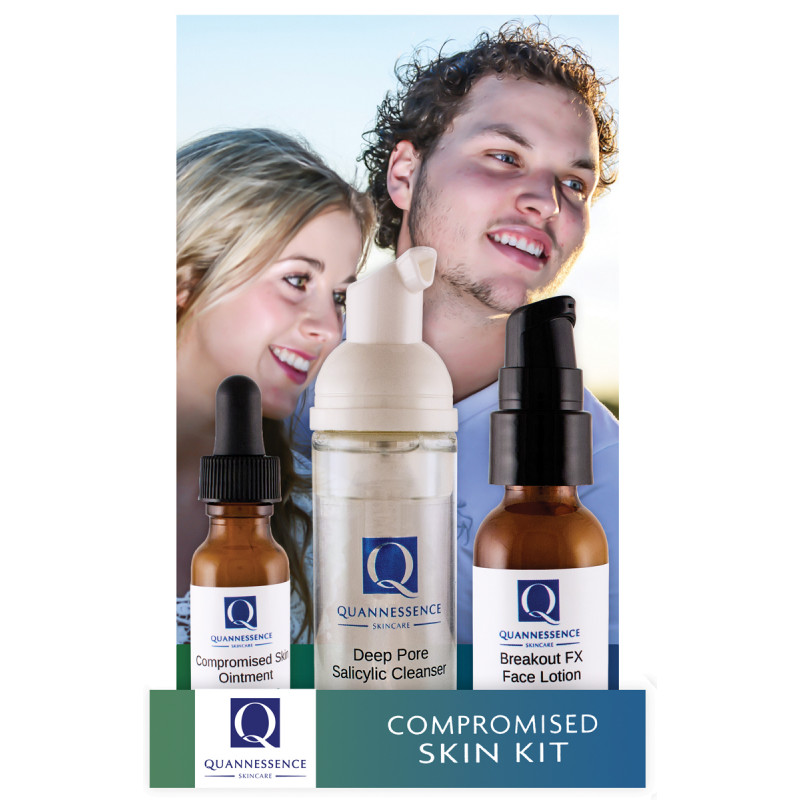 quannessence compromised skin kit