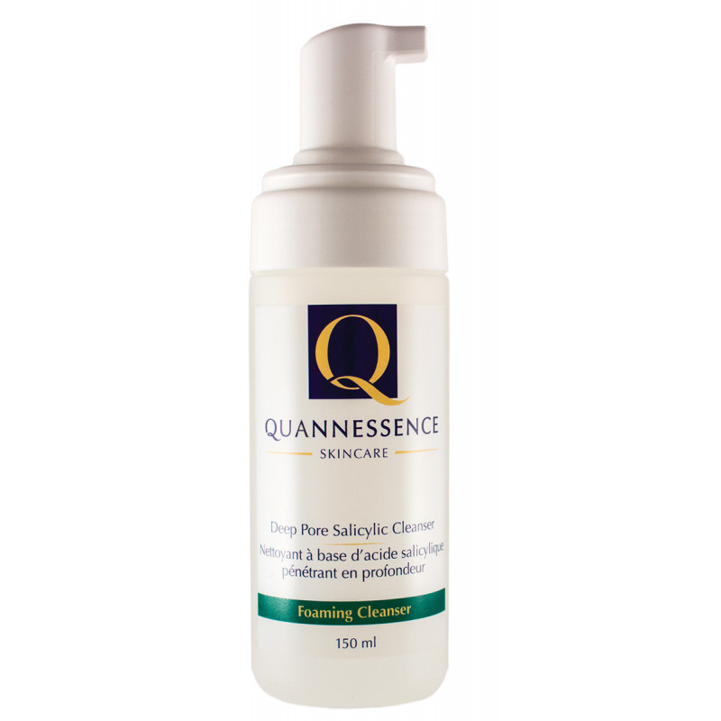 quannessence deep pore salicylic cleanser 5 % 150ml