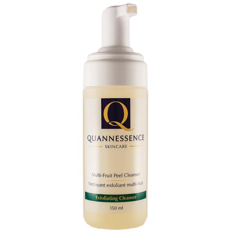 quannessence multi-fruit peel cleanser 150ml