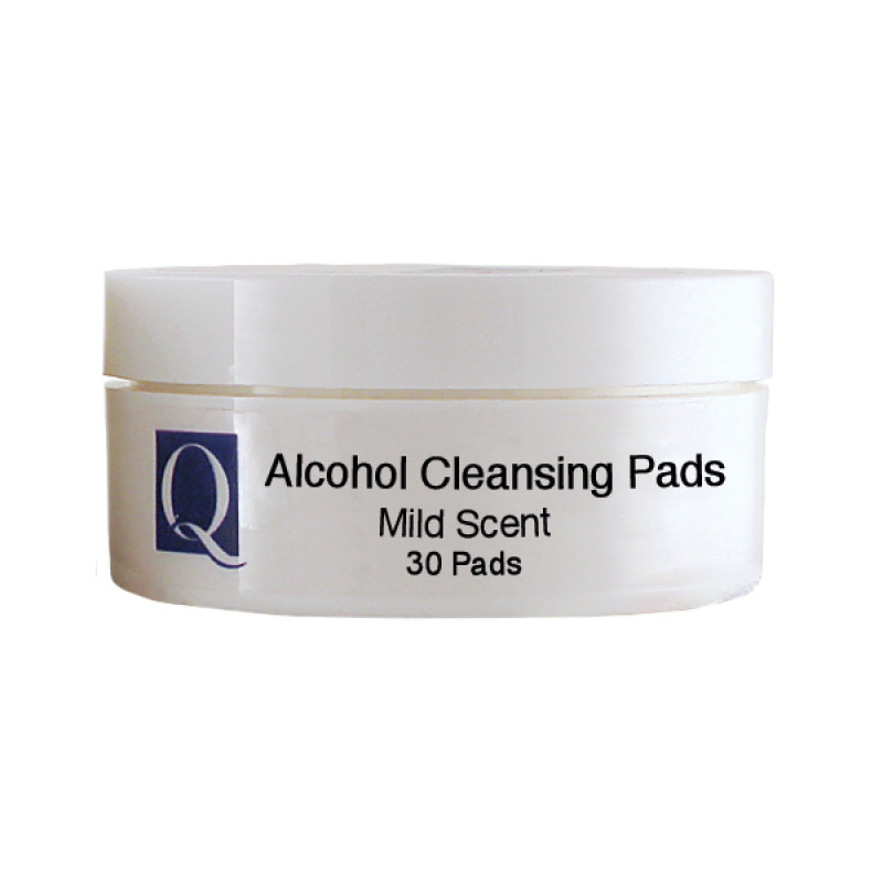 quannessence alcohol cleansing pads 30pc