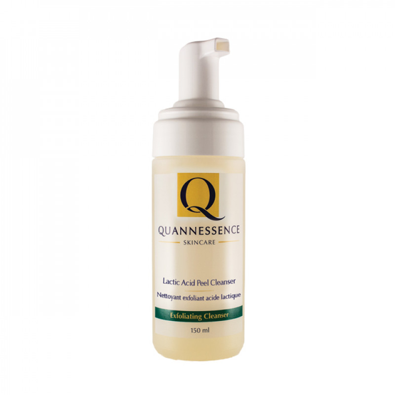 quannessence lactic acid peel cleanser 150ml