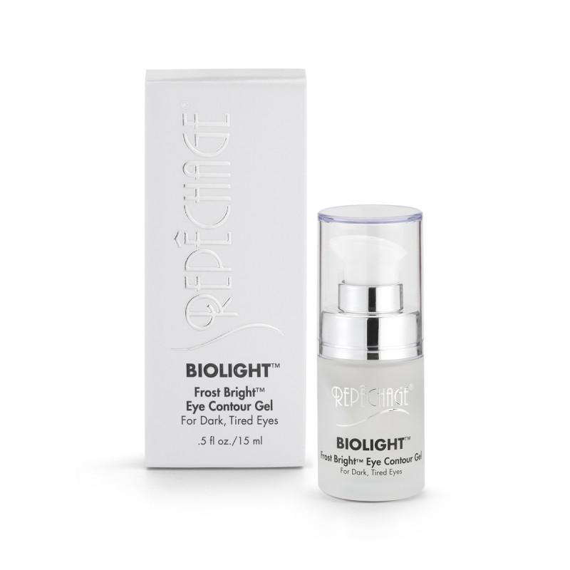 repechage biolight frost bright™ eye contour gel for dark, tired eyes .5oz