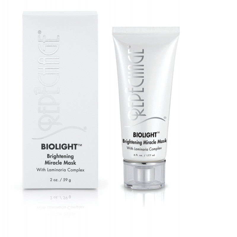 repechage biolight brightening miracle mask with laminaria complex 2oz