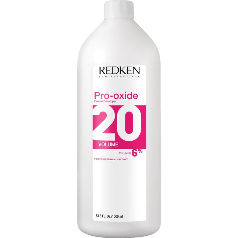 redken pro-oxide developer 20 volume litre