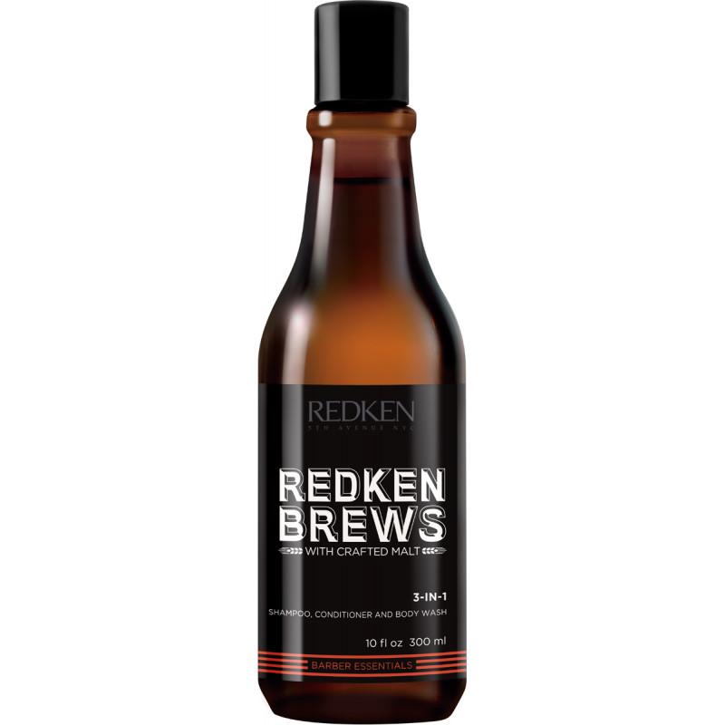 redken brews 3 in 1 shamp..