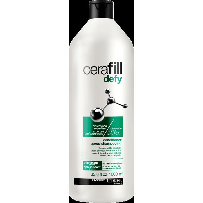 redken cerafill defy hair thickening conditioner litre
