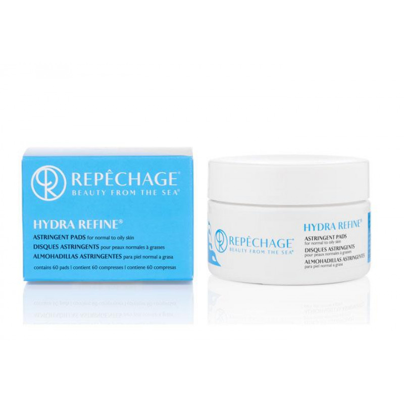 repechage hydra refine astringent pads