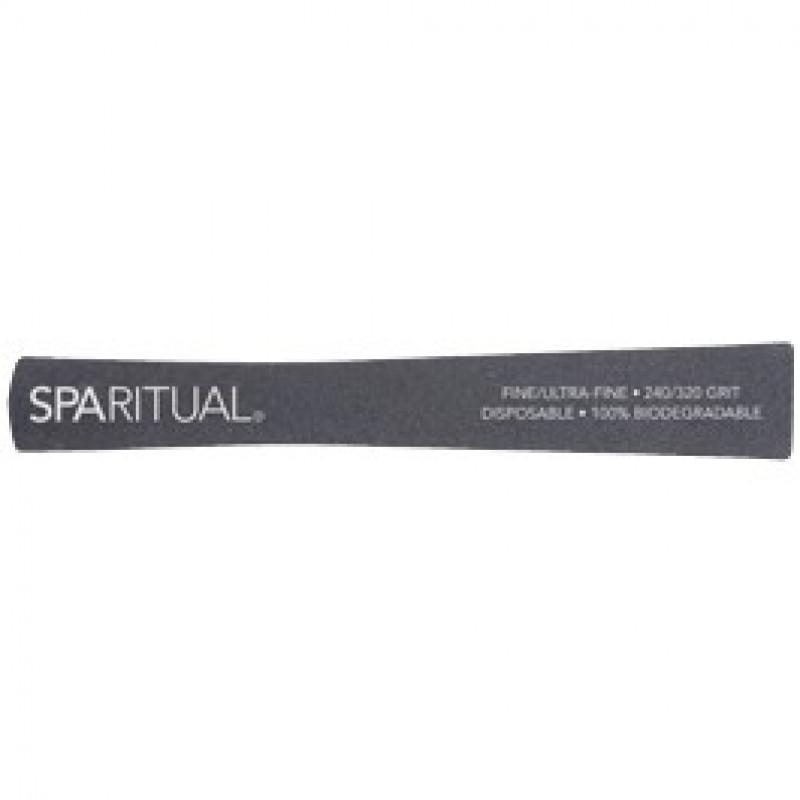 sparitual 240/320 grit eco file fine/ultra-fine (5 pack)